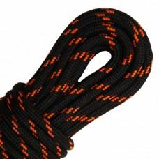 """Шнурки тип 13         """"Наполнитель""""   120см  чёрный + оранж (50пар)"""