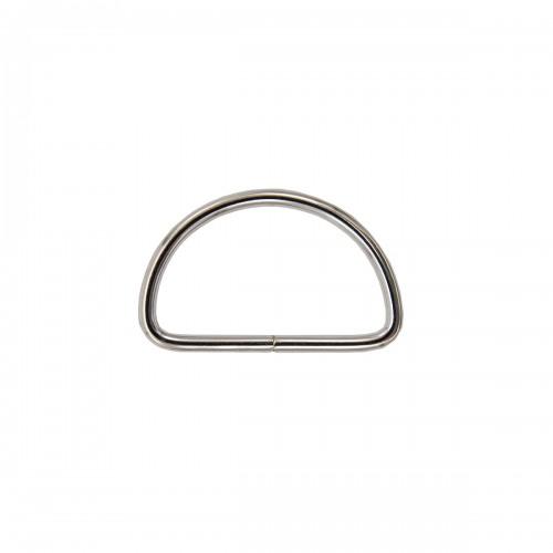 Полукольца 20мм  (1000шт)  никель