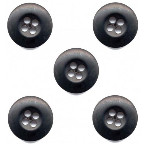 Пуговицы d 20/4  нато  (500шт) чёрные