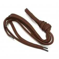 Шнурки тип 40   Плоские  (25пар) коричневые