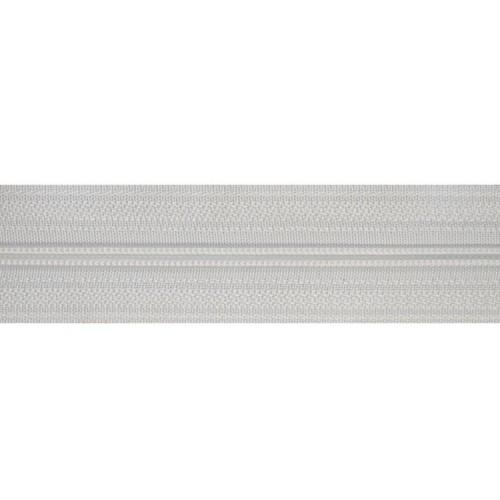 Молния рулонная спиральная №3 белая (10м)