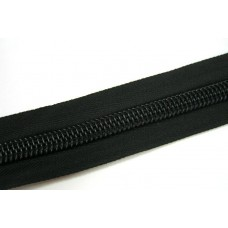 Молния рулонная спиральная №10    (100м) чёрная (28гр/м)