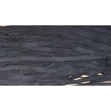 Резинка вязанная(уплотнённая)   10мм (100м) чёрная