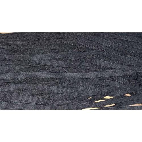 Резинка ткацкая 8мм (100м) чёрная