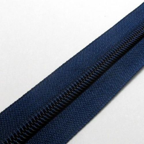 Молния рулонная спиральная №5  (10м)  синяя