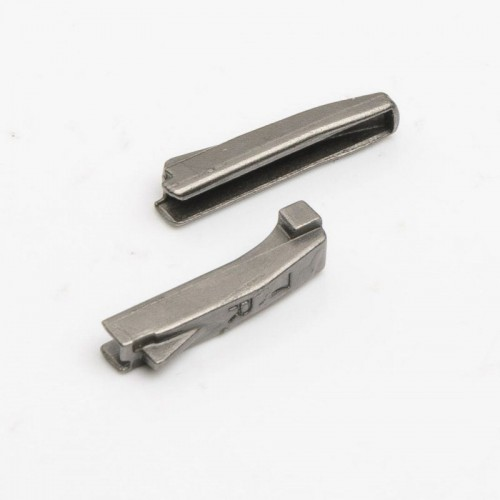Разъёмный нижний  ограничитель (штифт-штифт) №5 Блэк никель