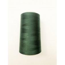 Нитки швейные 40/2 (4000м)     т.зелёный  №1222