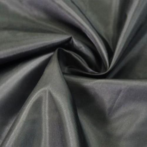 Ткань подкладочная  100% П/Э  (100м) чёрная