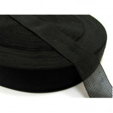 Лента окантовочная 32 мм (100м) чёрная