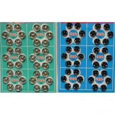 Кнопки пришивные на листах 10мм  (36шт)
