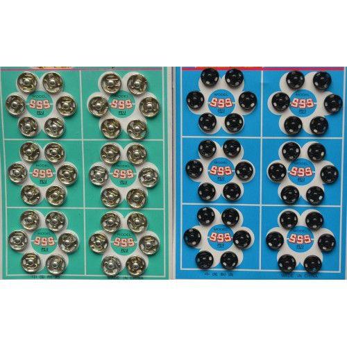 Кнопки пришивные на листах 10мм