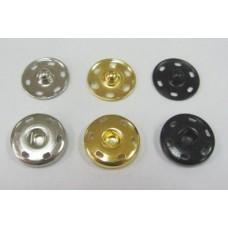 Кнопки пришивные на листах 12мм  (20шт)