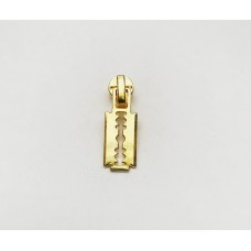 Бегунок  спираль №5       Декор   Золото (лезвие)