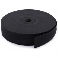 Резинка вязаная Чёрная 20мм (40м)