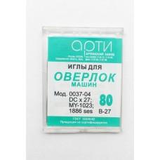 Иглы ПШМ Оверлок №80,90 (10 игл)
