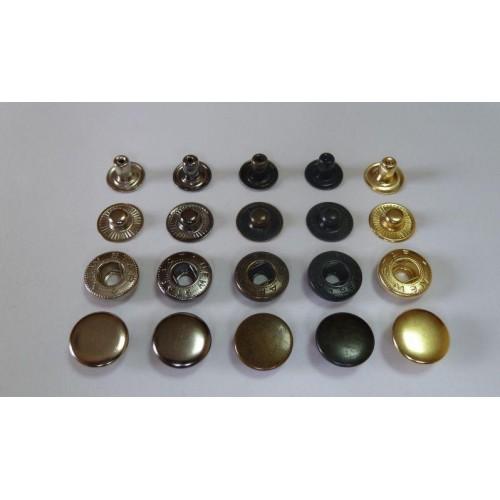 Кнопки для одежды  d 12.5мм  Альфа  (30шт)