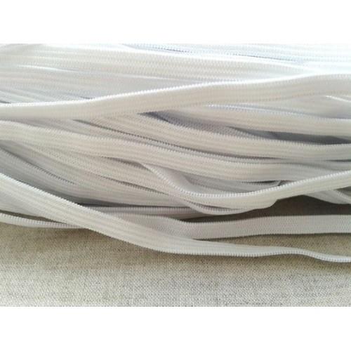 Резинка вязаная       Белая  10мм ( 100м)