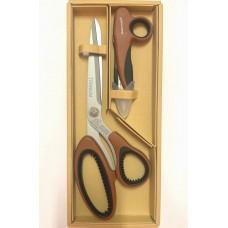 Набор ножниц Golden Phoenix  коричневые