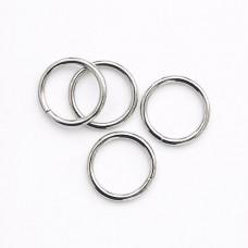 Кольцо металлическое (30 шт) никель