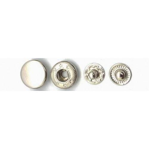 Кнопки 14мм  Китай  (1000шт) никель