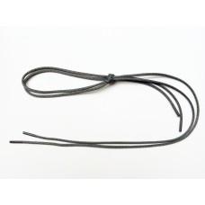 Шнурки тип 0     с пропиткой   70см  (50пар)  т.серые