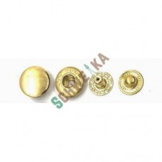 Кнопки 14мм  Китай  (1000шт) золото