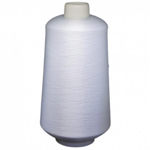 Оверлочная нить текстурированная некрученая  150D/1  (15000м)  белая