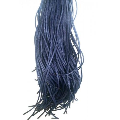 Шнурки тип 0     с пропиткой  70см  (50пар)     Синие