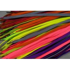 """Шнурки тип 40        """"Плоские""""  100см  цветные (25пар)"""